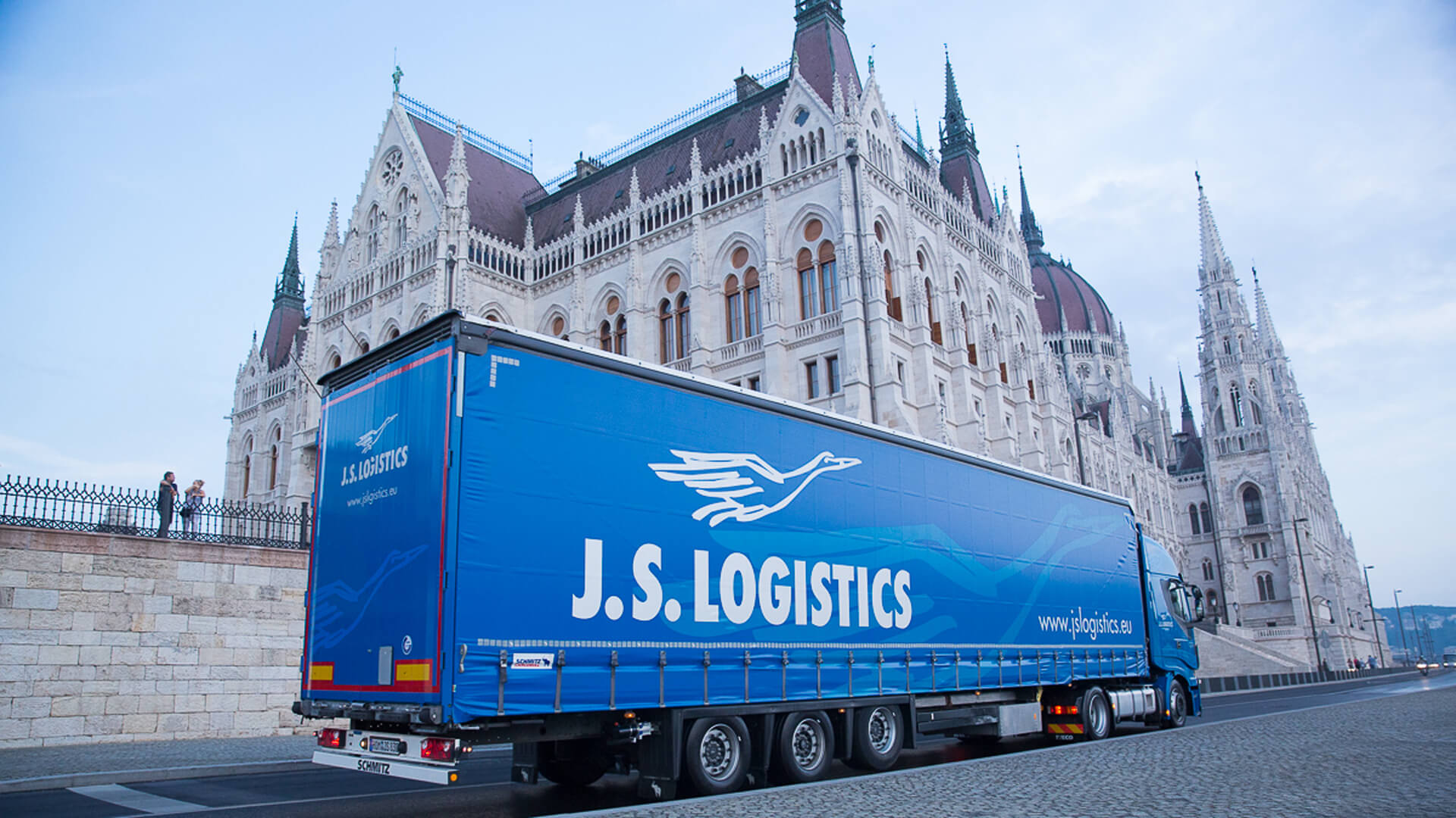 J.S. Logistics page image